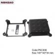 router plastic enclosure wifi router shell enclosure Custom Network Enclosures PNC008 140*140*34mm