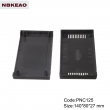 wifi modern networking abs plastic enclosure Custom Network Enclosures PNC125 with size  140*80*27mm