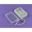 NEMA rated waterproof & dustproof ABS Electonic Enclosure Sealed Plastic Waterproof box PWP004T