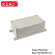 ip65 waterproof enclosure plastic wall mount enclosure outdoor electric enclosure with160*90*60mm