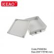 waterproof junction box ip65 plastic waterproof enclosure Wall-mounted Enclosure PWM354 205*16*60mm