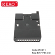 IP 54 water proof V0 materials new design Relay housing PLC din rail junction box PIC011 88*71*63mm