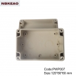 waterproof enclosure box for electronic abs box plastic enclosure electronics  PWP007 with 120*80*60