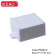 Wall-mounting Enclosure ip65 waterproof enclosure plastic junction box PWM012 with size 77*71*37mm
