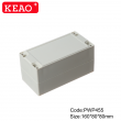 China Plastic Waterproof Enclosure Junction box ip65 plastic enclosure PWP455 with size 160*80*80mm