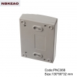outdoor electronics enclosure Network Cabinet Custom Network Enclosures PNC068 with size 130*90*32mm