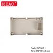 ABS Electrical Enclosure +PIC505 with size 162*90*40mm + PCB Din rail Enclosure Plastic Enclosure