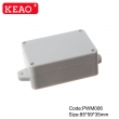Wall-mounting Enclosure ip65 waterproof enclosure plastic junction box PWM006 with size 85*59*35mm