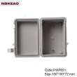 surface mount junction box ip65 waterproof enclosure plastic outdoor abs enclosure PWP651 150*100*72