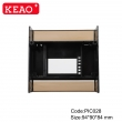 mold Injection Plastic Part Custom Plastic High Quality din rail enclosure PIC028 with 94*90*84mm