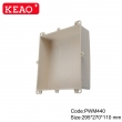 plastic waterproof enclosures big electrical junction boxes Wall-mounting Enclosure PWM440  wire box