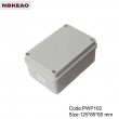 plastic box electronic enclosure ip65 waterproof enclosure plastic PWP102 with size 125*85*60mm