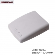 abs enclosures for router manufacture Network Communication Enclosure PNC097 with size 124*100*30mm