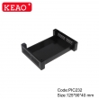 High quality plastic din rail enclosures for electronics projects from China  PIC232 with125*90*40mm