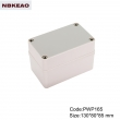 outdoor telecommunication enclosure waterproof enclosure box for electronic PWP165 with 130*80*85mm