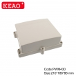 outdoor enclosure waterproof outdoor telecommunication enclosure Wall Mount Box PWM430 210*186*86MM