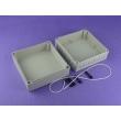 waterproof junction box ip65 plastic enclosure outdoor enclosure waterproof PWP142 with178*178*100mm