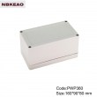 China Plastic Waterproof Enclosure Junction box ip65 plastic enclosure PWP360 with size 160*90*80mm