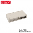 ABS Electrical Enclosure +PIC505 with size 162*90*40mm + PCB Din rail Enclosure Plastic Enclosure
