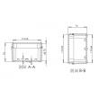 NEMA rated waterproof & dustproof ABS Electronic Enclosure,Water Resistant case PWP148