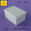 China Plastic Waterproof Enclosure surface mount junction box PWP174 with size 180X130X60mm