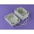 custom plastic enclosure waterproof enclosure box for electronic Europe Waterproof Case PWE015
