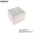 big electrical junction boxes electronic enclosure abs plastic waterproof boxes PWP116 wire box