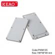 electrical box enclosure din custom plastic enclosure wall mounting enclosure box PWM135 158*90*46mm