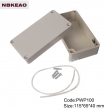 ip65 waterproof enclosure plastic outdoor electronics enclosure  PWP100 with size 115*65*40mm