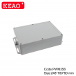 outdoor tv enclosure waterproof  wall mount enclosure electrical junction box PWM358 248*160*60mm