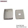 abs enclosures for router manufacture Network Connect Box Custom Network Enclosures PNC166 116*83*23