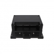 ABS Electronic Product Plastic Din Rail Enclosure Electric Controller Housing PIC330 with145*90*73mm