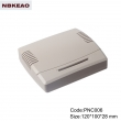 Network Communication Enclosure router plastic enclosure wire box PNC006 with size 120*100*28mm