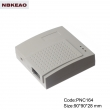 abs enclosures for router manufacture Network Communication Enclosure PNC164 with size 90*90*28mm