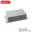 electronic plastic enclosures wall mounting enclosure box abs junction box PWM223 with 200*120*67mm