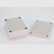 IP65 plastic waterproof enclosures with solid lid PWP163 outdoor enclosure waterproof 120*120*90mm