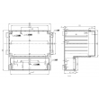 enclosure box electronic waterproof enclosure box for electronic abs enclosure boxPWP408 165X158X121