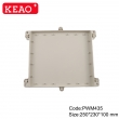 plastic waterproof enclosures waterproof electronics enclosure wall mount enclosure PWM435 wire box