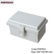China Plastic Waterproof Enclosure Junction box ip65 plastic enclosure PWP631 with size 160*100*85mm