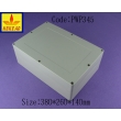 China NEMA rated waterproof & dustproof ABS Electonic Enclosure PWP345 size : 380X260X140mm