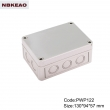 China best-selling electronic junction box instrument enclosure PWP122 with size 130*94*57mm