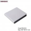 abs box plastic enclosure electronics Network Storage Enclosure integrated terminal blocks PNC019