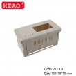 Industrial Control Enclosure plastic electrical box  junction box  PIC102 with size 158*79*75mm