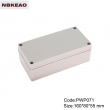 ip65 plastic waterproof enclosure waterproof electronics enclosure PWP071 with size 160*80*55mm