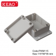 plastic waterproof enclosures outdoor abs enclosure Wall Mount Enclosures PWM115 with 115*90*55mm