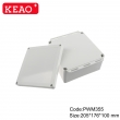 ip65 waterproof enclosure plastic Wall-mounting Enclosure abs junction box PWM355 with 205*176*100mm