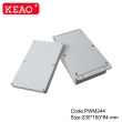 weatherproof enclosure plastic electronic enclosure wall mounting enclosure box PWM244 230*50*84mm