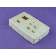 plastic electronic enclosure electrical junction box custom enclosure PEC545 with size 125*80*30mm