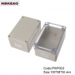 NEMA rated waterproof & dustproof ABS Electonic Enclosure Ttransparent lid PWP003T with 100X68X50mm