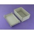 plastic electrical enclosure box waterproof electronics enclosure Europe EnclosurePWE412 280*190*130